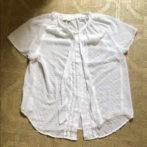 NWT White blouse